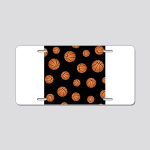 Basketball pattern Aluminum License Plate