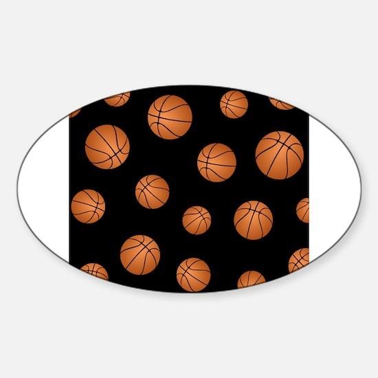 Basketball pattern Decal