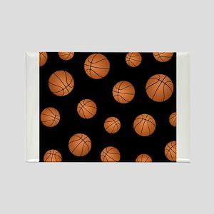 Basketball pattern Magnets