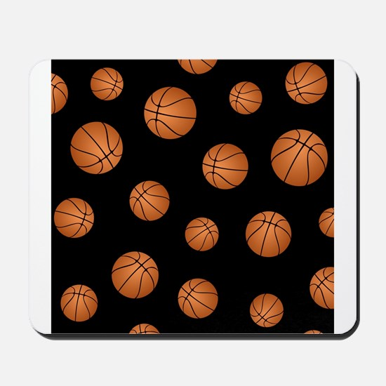 Basketball pattern Mousepad