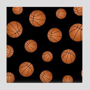 Basketball pattern Tile Coaster