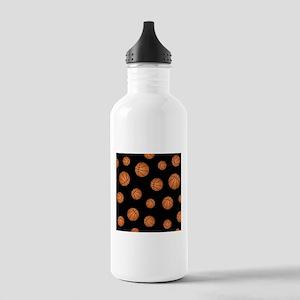 Basketball pattern Sports Water Bottle
