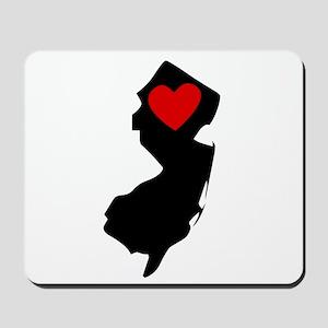 New Jersey Heart Mousepad