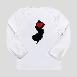 New Jersey Heart Long Sleeve T-Shirt