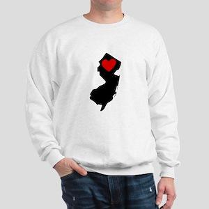 New Jersey Heart Sweatshirt
