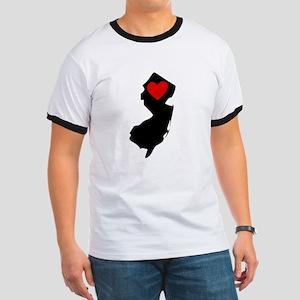 New Jersey Heart T-Shirt