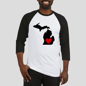 Michigan Heart Baseball Jersey