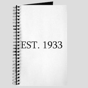 Est 1933 Journal