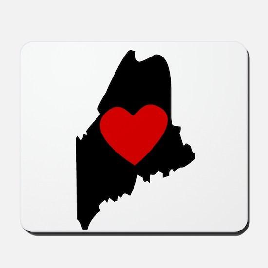 Maine Heart Mousepad