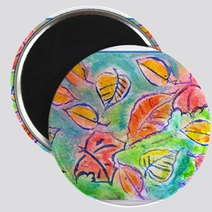Autumn leaves art Magnets