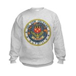 USS NEW ORLEANS Kids Sweatshirt