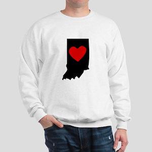 Indiana Heart Sweatshirt