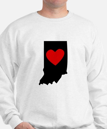 Indiana Heart Sweatshirt