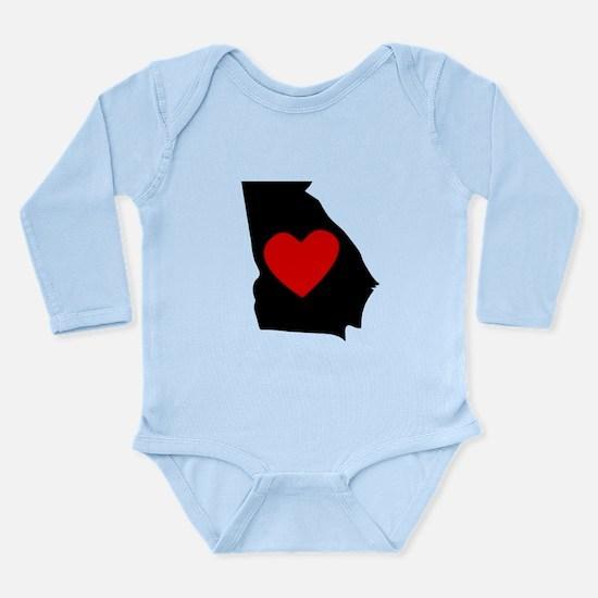 Georgia Heart Body Suit