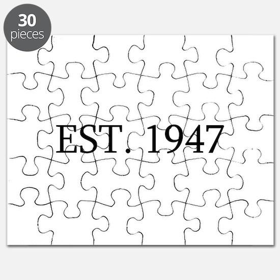 Est 1947 Puzzle