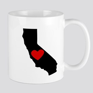 California Heart Mugs