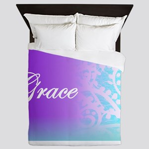 Essence of Grace! Queen Duvet