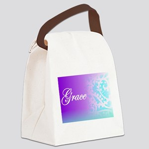 Essence of Grace! Canvas Lunch Bag