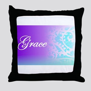 Essence of Grace! Throw Pillow