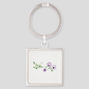 Floral Vine Keychains