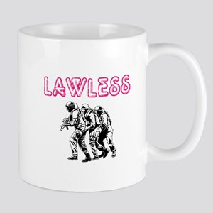 LAWLESS (outlaw rebel street graffiti) Mugs