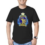 USS ORION Men's Fitted T-Shirt (dark)