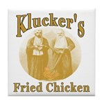 Kluckers Fried Chicken Tile Coaster