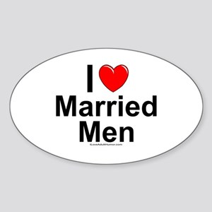 Married Men Sticker (Oval)