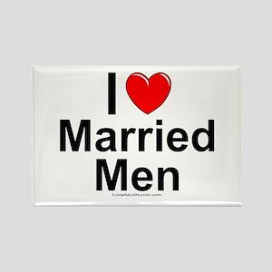 Married Men Rectangle Magnet