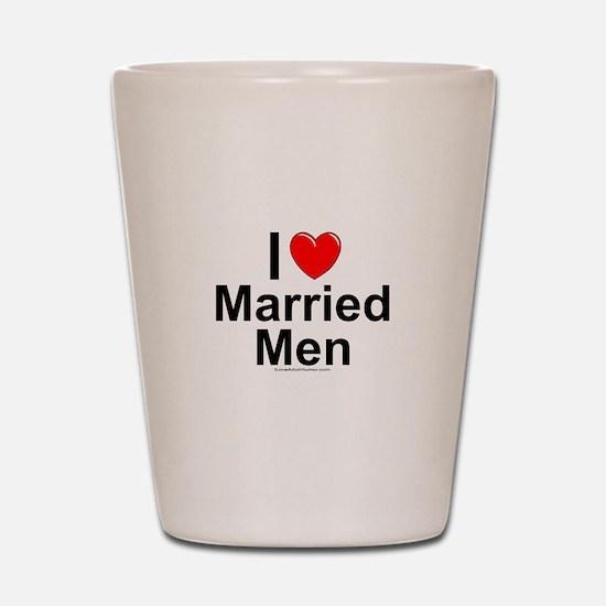 Married Men Shot Glass