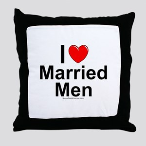 Married Men Throw Pillow