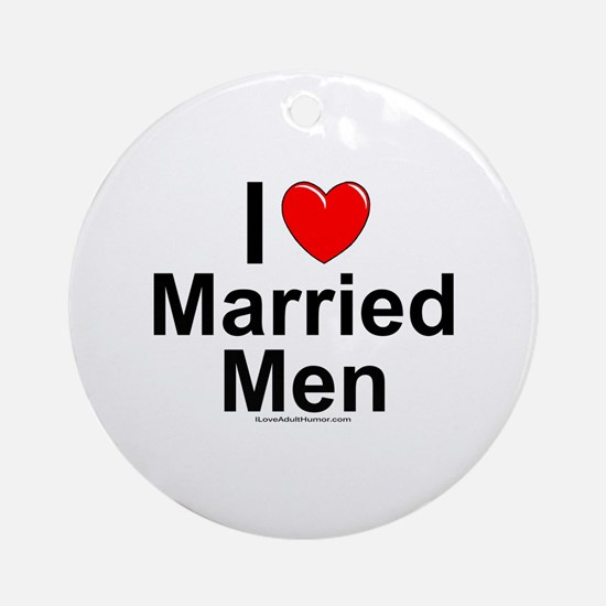 Married Men Ornament (Round)
