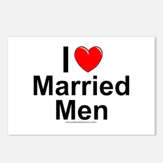 Married Men Postcards (Package of 8)