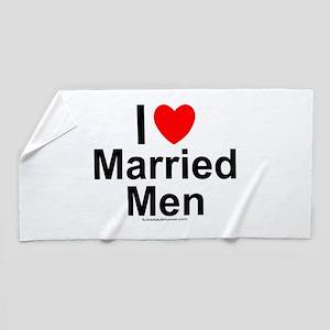 Married Men Beach Towel