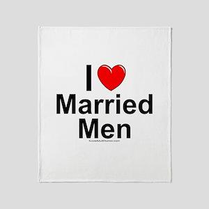 Married Men Throw Blanket