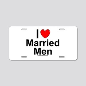 Married Men Aluminum License Plate