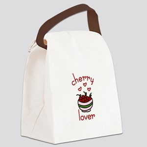 Cherry lover Canvas Lunch Bag
