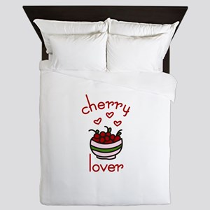 Cherry lover Queen Duvet