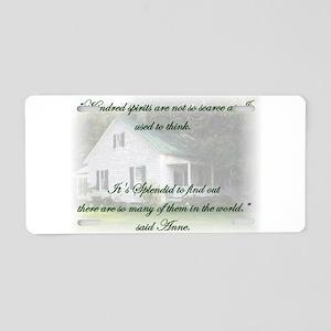 Kindred Spirits Aluminum License Plate