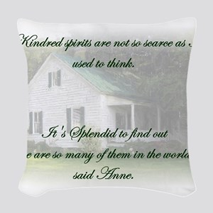 Kindred Spirits Woven Throw Pillow