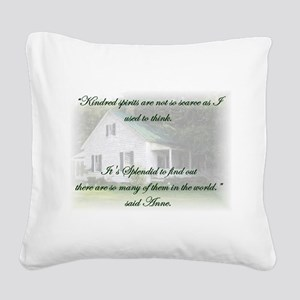 Kindred Spirits Square Canvas Pillow