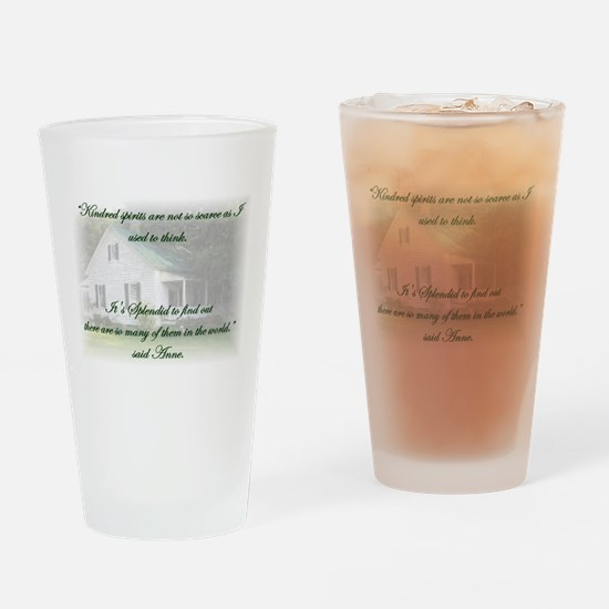 Kindred Spirits Drinking Glass