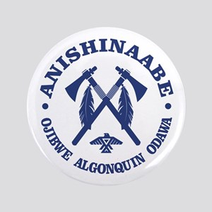 "Anishinaabe 3.5"" Button"