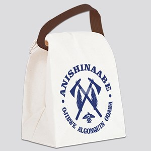 Anishinaabe Canvas Lunch Bag