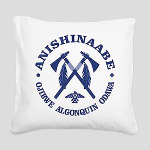 Anishinaabe Square Canvas Pillow