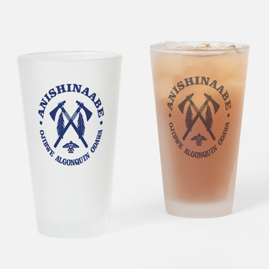 Anishinaabe Drinking Glass