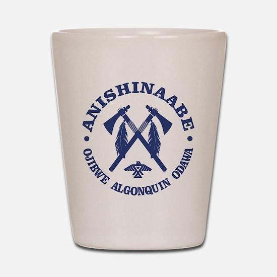 Anishinaabe Shot Glass