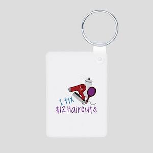 I Fix $12 Haircuts Keychains