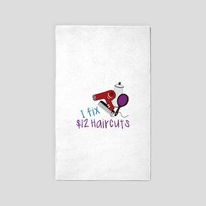 I Fix $12 Haircuts 3'x5' Area Rug