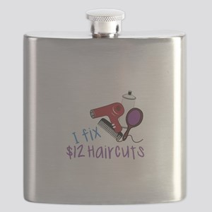 I Fix $12 Haircuts Flask